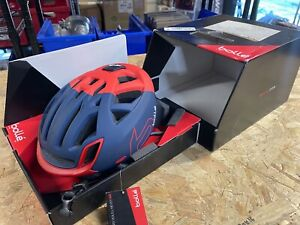 Bolle Premium The One Navy/Red MEDIUM 54-58CM Bicycle Helmet READ