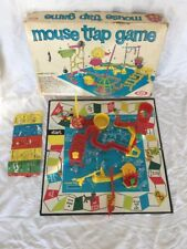 Vintage 1963 First Edition Ideal Toy Corp. MOUSE TRAP Game
