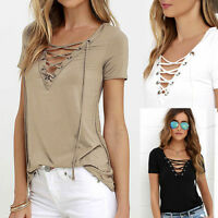 New Fashion Women's Loose Pullover T-Shirt Tops Short Sleeve Shirt Casual Blouse