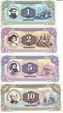 Marie Byrd Land (Antarctica) set 7 banknotes 2014 UNC (private issue)