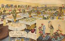 Evansville Indiana Yule Pottery Co Multiview Antique Postcard K63242