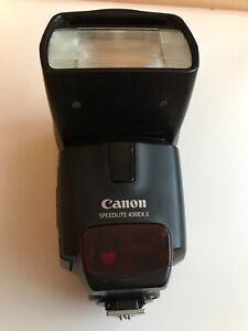 Canon 430EX II Shoe Mount Flash (missing parts) as photos.