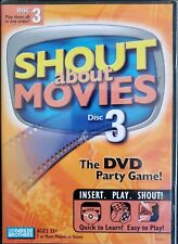 Shout About Movies Volume Disc 3 - DVD Party Game Parker Brothers Brand New