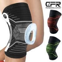 Knee Brace Support Meniscus Arthritis Pain Relief Running Patella Stabilizers HG