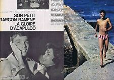 COUPURE DE PRESSE CLIPPING 1966 ALAIN MOSCONI  (4 pages)