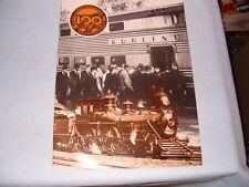 Burlington Railroad  CHICAGO - AURORA 100 YR CENTENNIAL 1864 1964 24 pg brochure