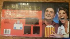 New listing Klh 3430-A Home Theater Speaker Package New