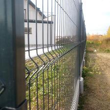 Zaun Gartenzaun 3D Zaun 173cm Hoch 30 Lfm inkl Pfosten!
