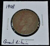 Great Britain/UK, 1948 Florin/Two Shillings