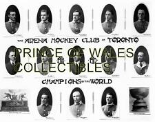 1919 TORONTO ARENAS TEAM PHOTO 8X10