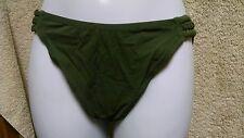 Fantasie of England 8234 Swim bikini bottom Size UK Small/ US 6 Dark Green