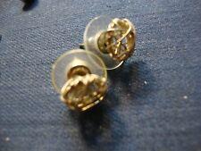 Silver Vermeil Earrings Grandmas Estate 925 Sterling