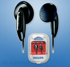 PHILIPS Kopfhörer In-Ear extra Bass Ohrhörer Schwarz 3,5 mm Anschluss SHE1350