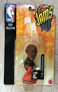 NEW 1998 Mattel NBA Jams Action Figure Tim Hardaway Miami Heat