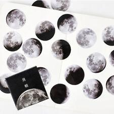 45pcs Creative Calendar Moon Mini Paper Sticker Diary Scrapbooking Label Sticker