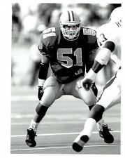 1990 Original Photo Oregon Ducks Football Joe Farwell in uniform in game action