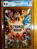 Strange Academy 1 CGC 9.6 Scott Campbell Cover! 🔥🔑 Many First Appearances! Key