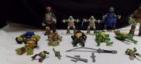 Lot of Various 2012+Viacom Playmates Teenage Mutant Ninja Turtles Figures  Parts