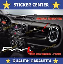 1 ADESIVO CRUSCOTTO FIAT 500L 500 L TUNING BICOLORE DASHBOARD STICKER DECAL