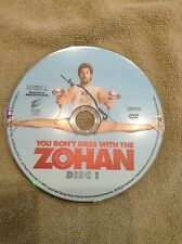 You Don't Mess With the Zohan DVD, 2009 Used disc only