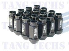 D1-SPEC BLACK LUG NUTS 16 PCS 12X1.5MM HONDA ACURA CIVIC INTEGRA RSX