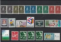 netherlands and antilles mint never hinged stamps  & 1 used norway ref r12692