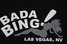 Bada Bing! club Las Vegas Sopranos Medium black T shirt