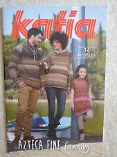 Catalogue de tricot KATiA AZTECA FiNE Family - 14 modèles