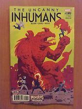 Marvel Uncanny Inhumans, Vol. 1 # 1.MU (1st Print)