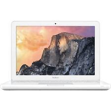 "Apple Macbook Intel 2.40 GHz 4GB 500GB 13"" MC516LL/A White Laptop"
