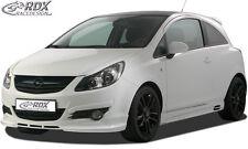 RDX Bodykit Opel Corsa D Spoiler-Set ABS Front Heck Ansatz Seitenschweller