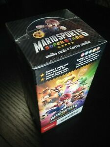 Mario Sports Superstars amiibo Cards New Sealed Box of 100 Cards Nintendo 3DS