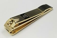 "777 Ultra Wide Toe & Finger Nail Clipper ""Straight"" Gold Made In Korea Auction"