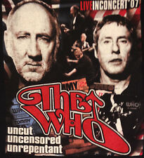 The Who 2007 Tour T-Shirt vibrant colors / 2 sided / XL / excellent +
