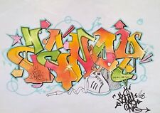 ZENOY - Graffiti Dessin Original  - 2008! - NO NASTY/COPE2/SEEN/OBEY/QUIK/BLADE