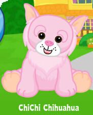 Webkinz Chichi Chihuahua ( unused code tag only ) !RELIABLE Seller!
