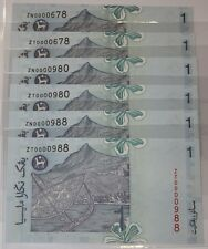 (PL) RM 1 ZN 0000980 UNC 1 PIECE ONLY LOW NICE FANCY LUCKY Z SERIES PAPER NOTE