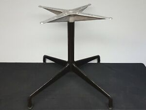 Herman Miller Charles Eames Table Base Universal Style Base with Levelers - MCM