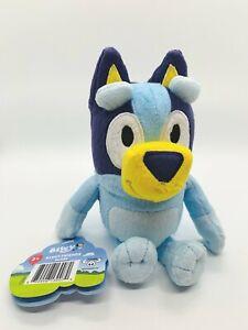 "Disney Jr Bluey & Friends ""Bluey"" 8"" Plush Dog Moose Toys NWT Free Shipping"