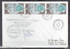 1981-LETTRE TAAF-TERRES AUSTRALES-SATELLITES.KERGUELEN-TIMBRES.Yt.PA.56