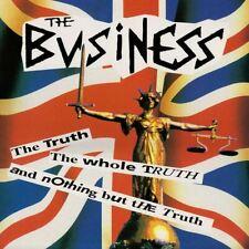 "BUSINESS ""The Truth The Whole Truth ...""  British Oi! Punk Ltd Ed Blue vinyl LP"