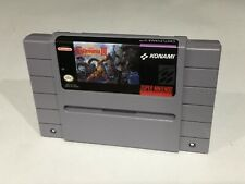 Castlevania IV   Snes Super Nintendo Cleaned Tested working NICE