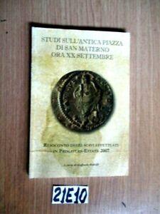 STUDI SULL'ANTICA PIAZZA DI SAN MATERNO ORA XX SETTEMBRE  (21E10)