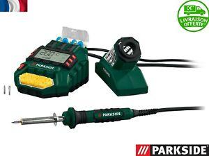 PARKSIDE® Station de soudage numérique PLSD 48 B2, 48 W fer à souder  + bobines
