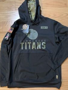 Nike NFL Tennessee Titans Salute to Service Therma Hoodie Sz L BNwT NKDY