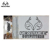 "Realtree 6"" Decal- White"