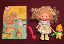 STRAWBERRY SHORTCAKE BANANA TWIRL  BERRYKIN Doll KENNER 1985 (NO MIB NO NRFB)