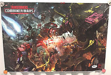 "TRANSFORMERS COMBINER WAR giant POSTER (18x27"") optimus prime devastator SDCC"