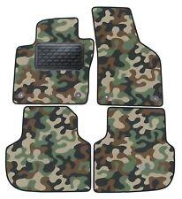 Armee-Tarnungs Autoteppich Autofußmatten Auto-Matten für VW Jetta ab 2012