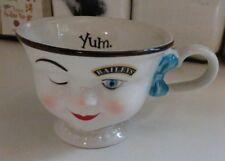 BAILEYS IRISH CREAM WINKING GIRL TEA COFFEE CUP HELEN HUNT LIMITED EDITION